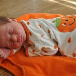 Season outfits for newborns make great greeting cards