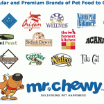 Mr. Chewy.com has over 70 brands