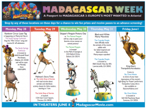 Madagascar Week in Atlanta