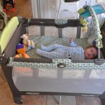 Baby in Pack 'n Play