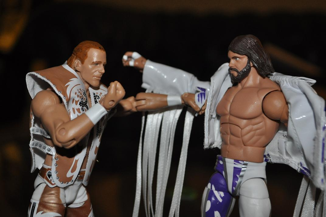 Classic WWE figures about to smackdown