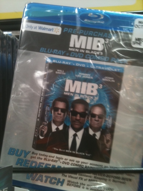 MIB3 on BluRay