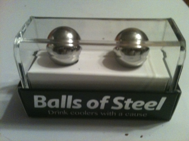 Balls of steel great mission but the product left us for Balls of steel