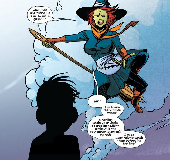 The Kitchen Witch is great, comic book fun for kids | Daddy Mojo