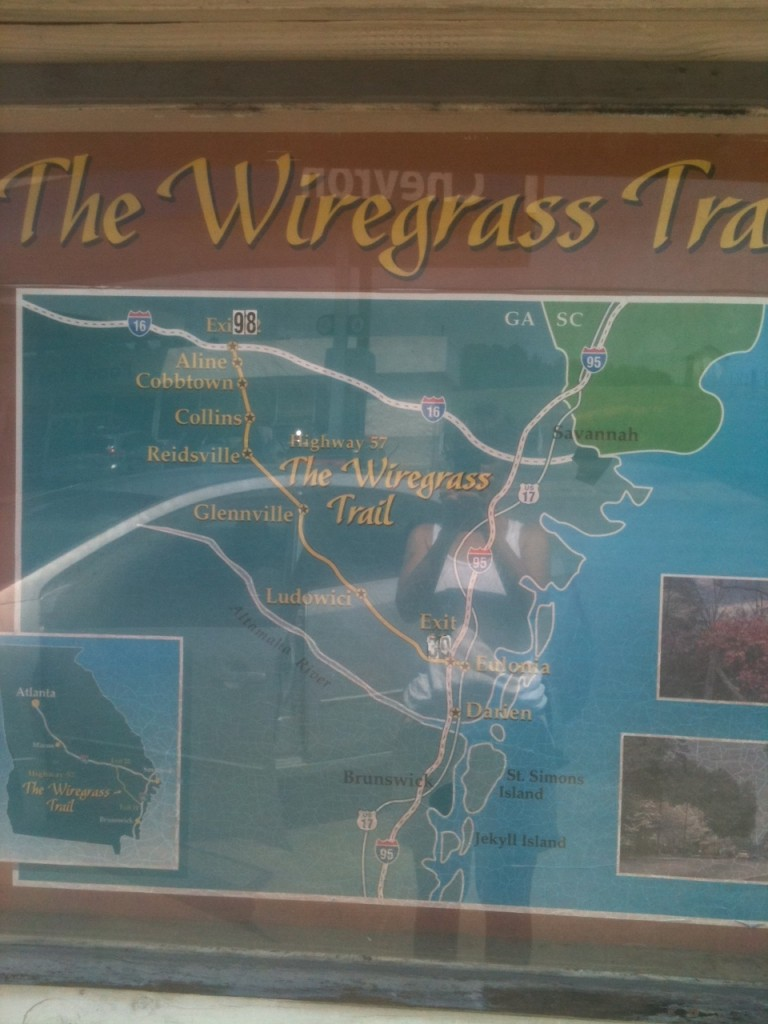 The Wiregrass Trail off of I-16