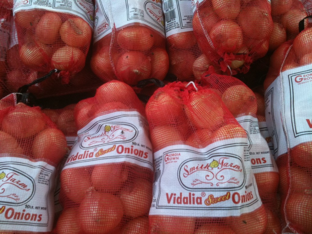 Vidalia onions at exit 98 on I-16