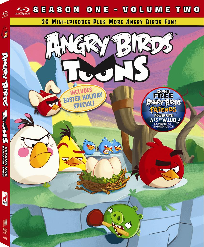 Angry Birds  Toons, Season One, Volume Two DVD review and giveaway