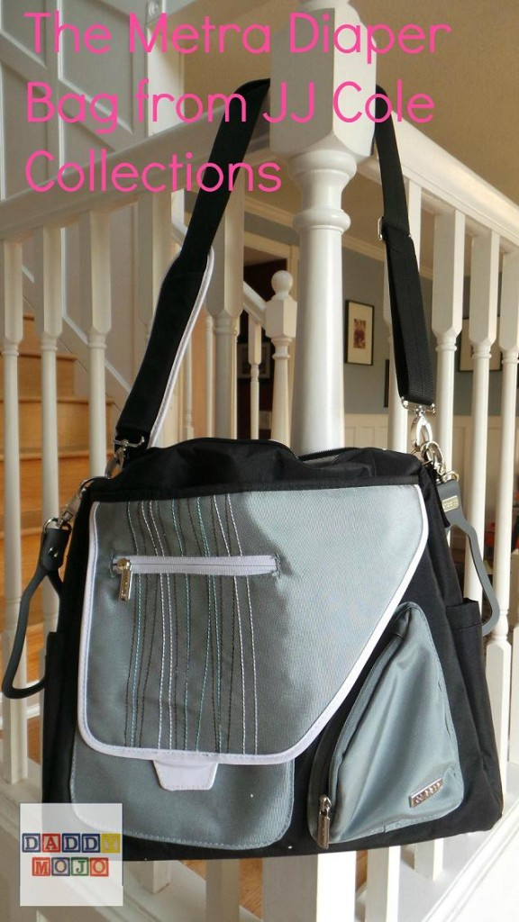 JJ Cole Metra Diaper bag review by Daddy Mojo