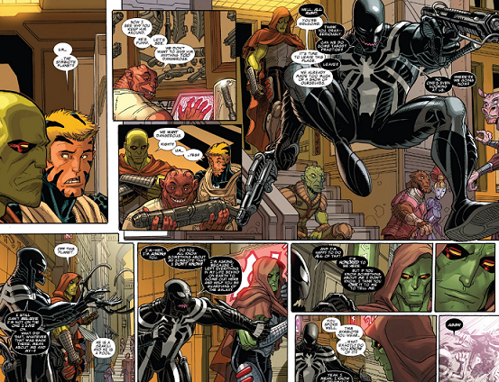 Drax The Destroyer Vs Venom: Guardians Of The Galaxy #14-still My Fave Comic On The
