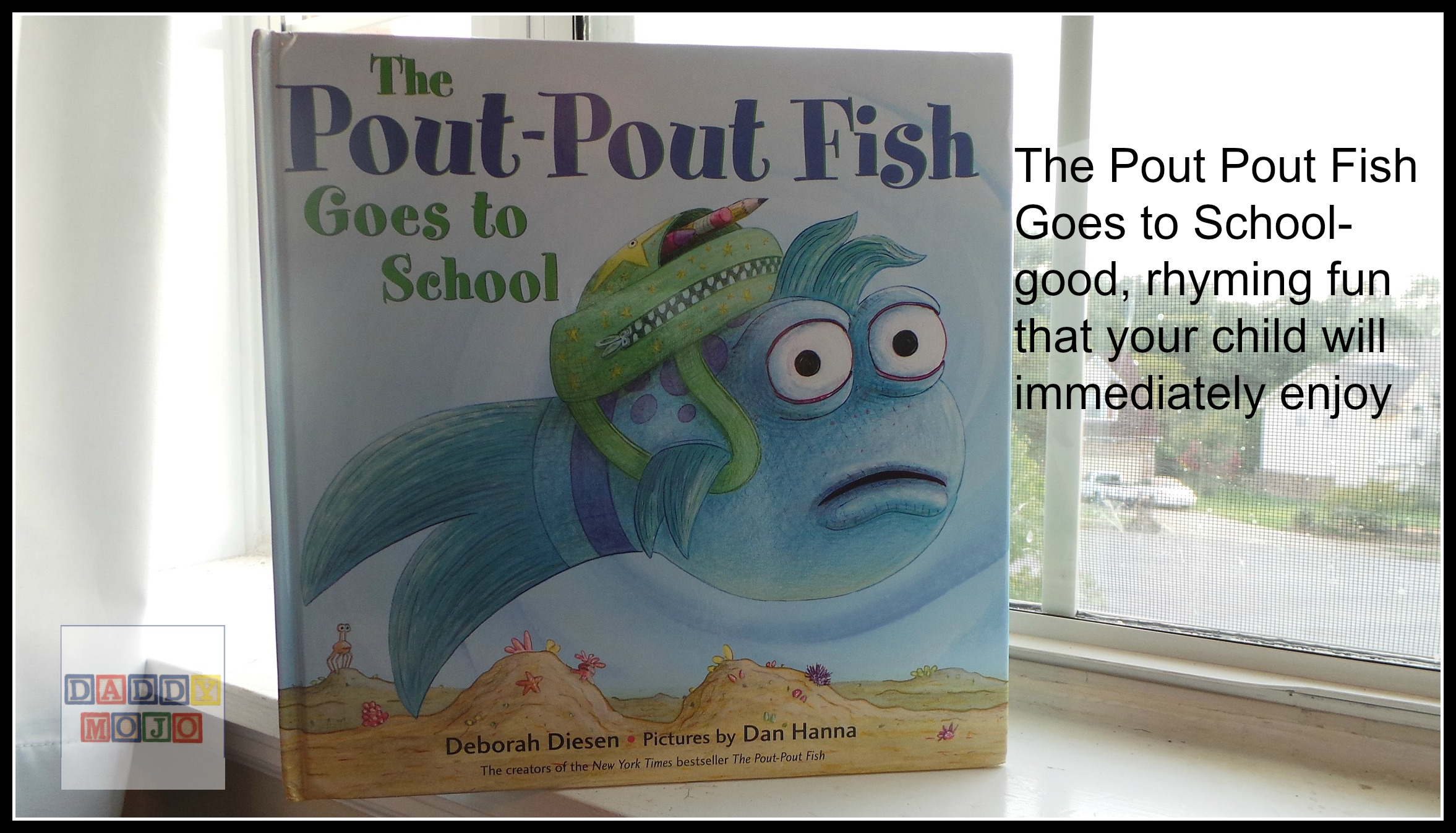 Daddy mojo parenting reviews giveaways all age comic for The pout pout fish book