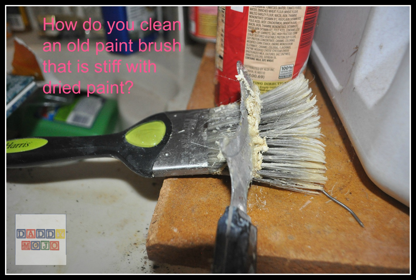 How to clean paintbrushes - How To Clean Paintbrushes 4