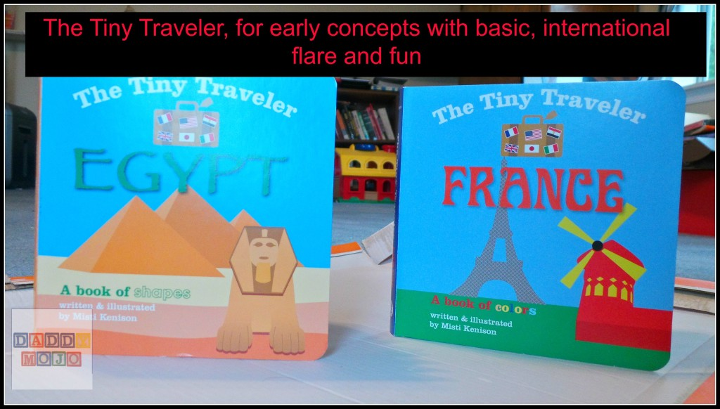 The Tiny Traveler Egypt and France: armchair, toddler education