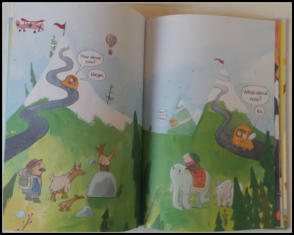 Are We There Yeti is a one pun book that succeeds for small children