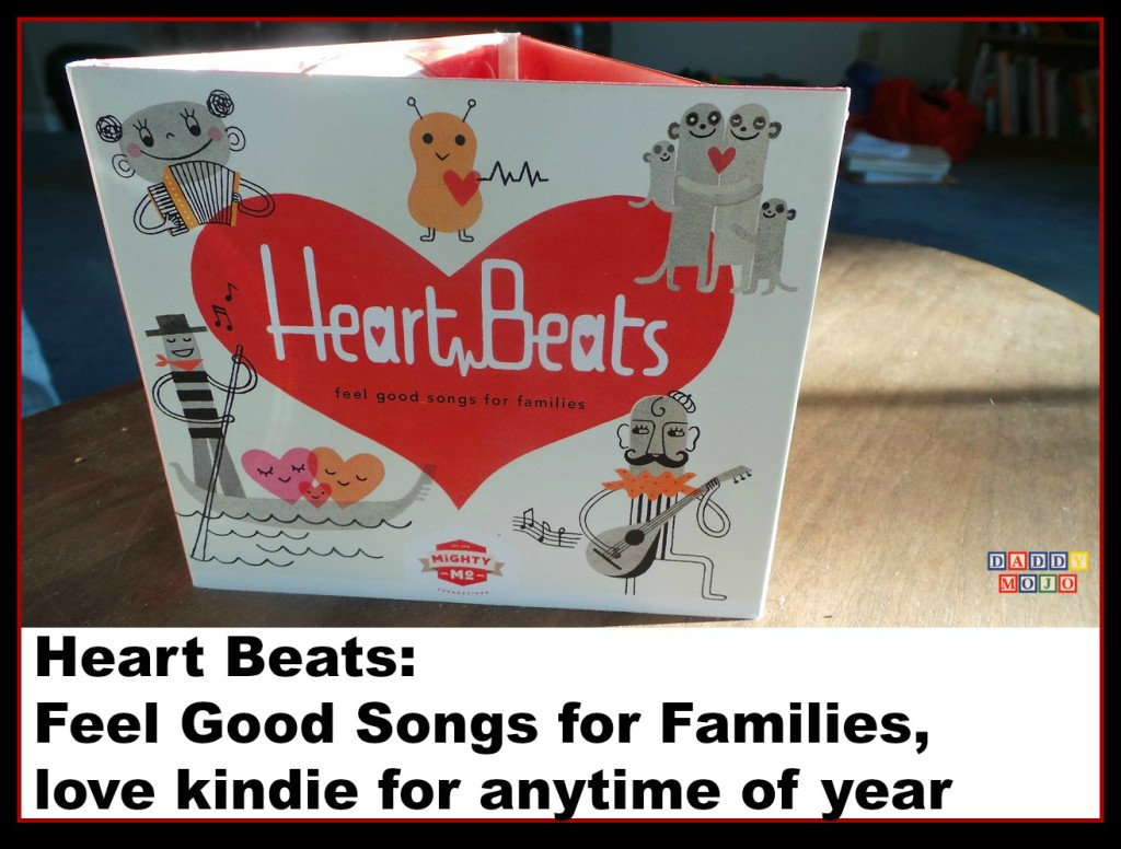 Heart Beats, kindie music, Andrew & Polly, Katydid, The Verve Pipe, artists, children,