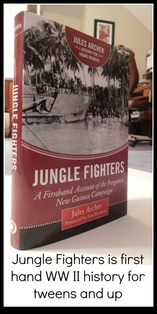 Jungle Fighters, Jules Archer, New Guinea, WWII, book, history, war