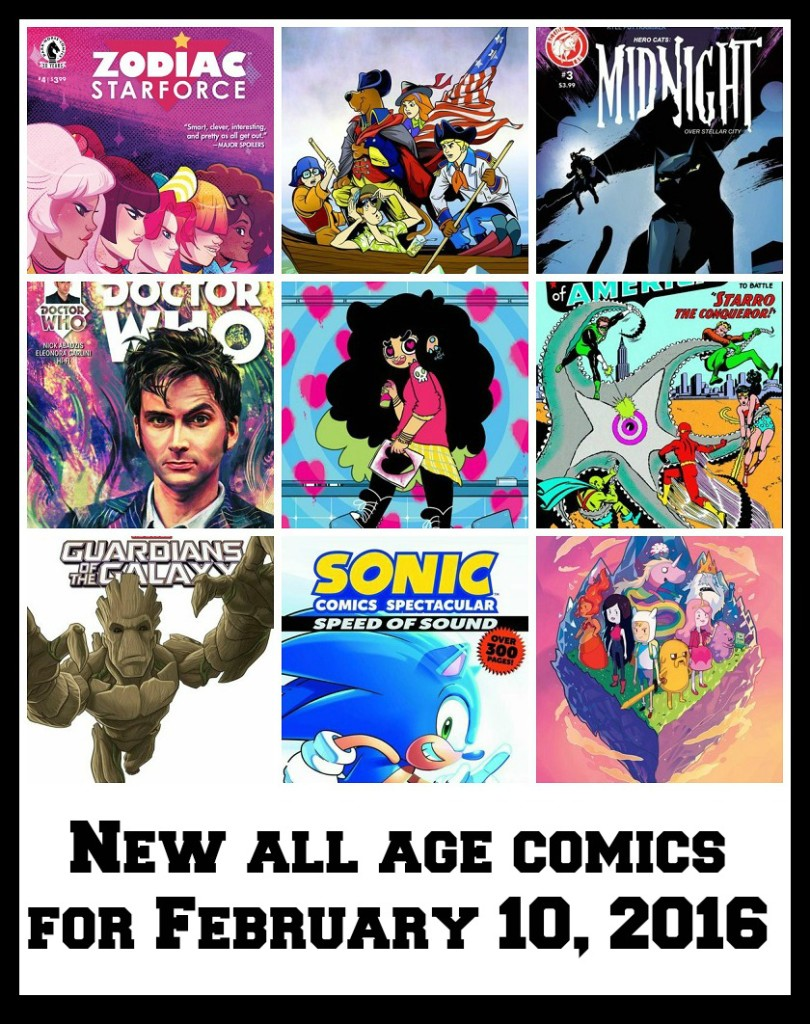 All age comics, doctor who, spongebob, Scooby doo, young reader