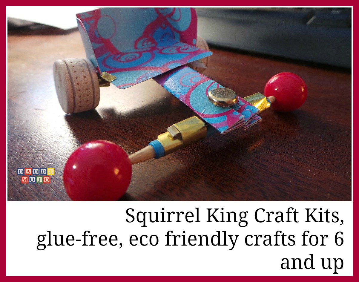 squirrel king craft kits glue free eco friendly crafts. Black Bedroom Furniture Sets. Home Design Ideas