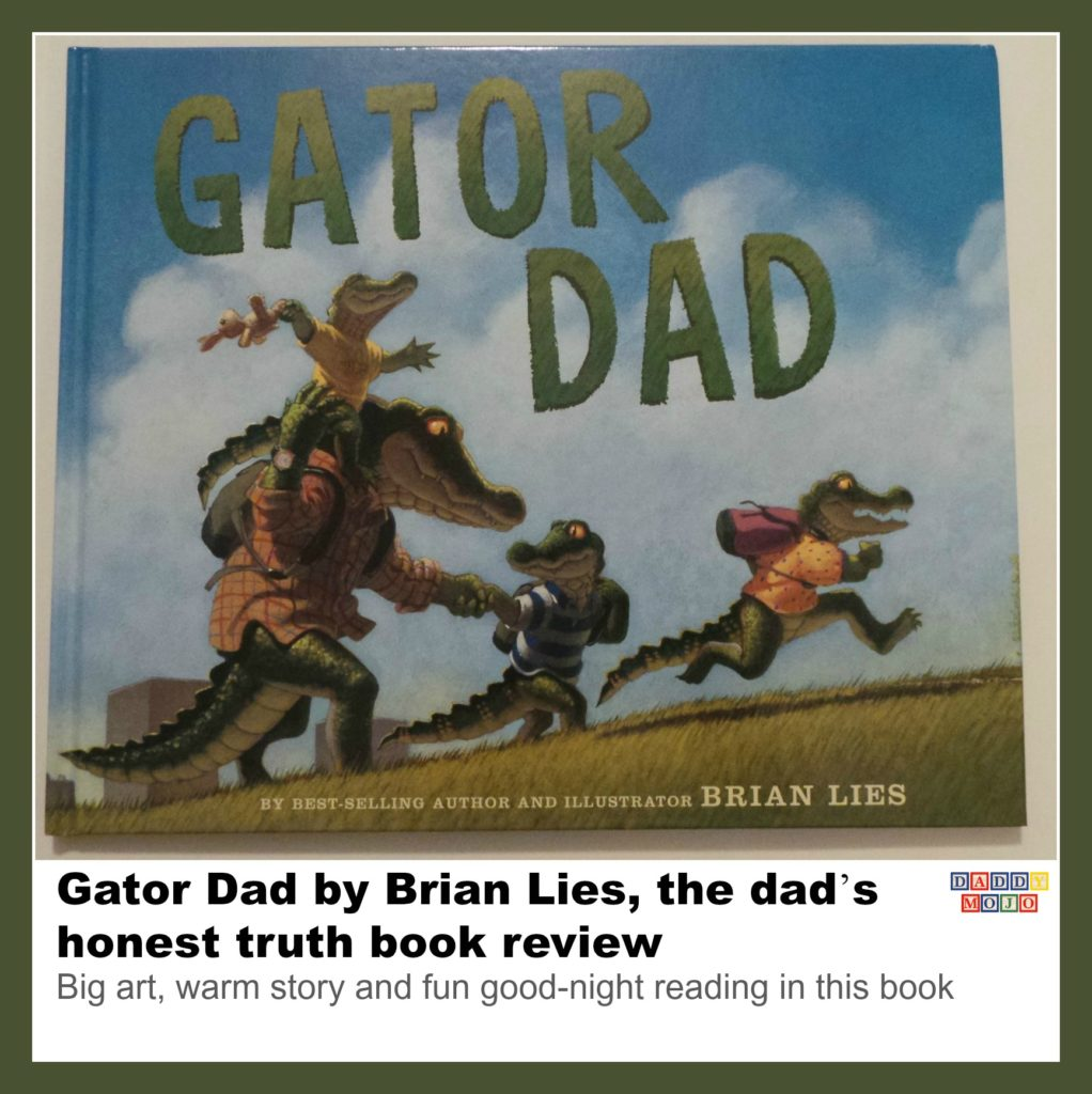 Gator Dad, good-night book, young reader, Brian Lies, heart, children
