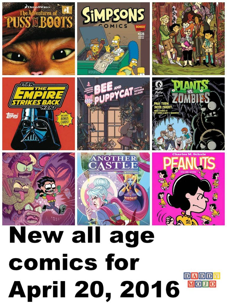 Plants Vs. Zombies, Peanuts, all age comics, comic books, Free Comic Book Day, reader, Simpsons Comics