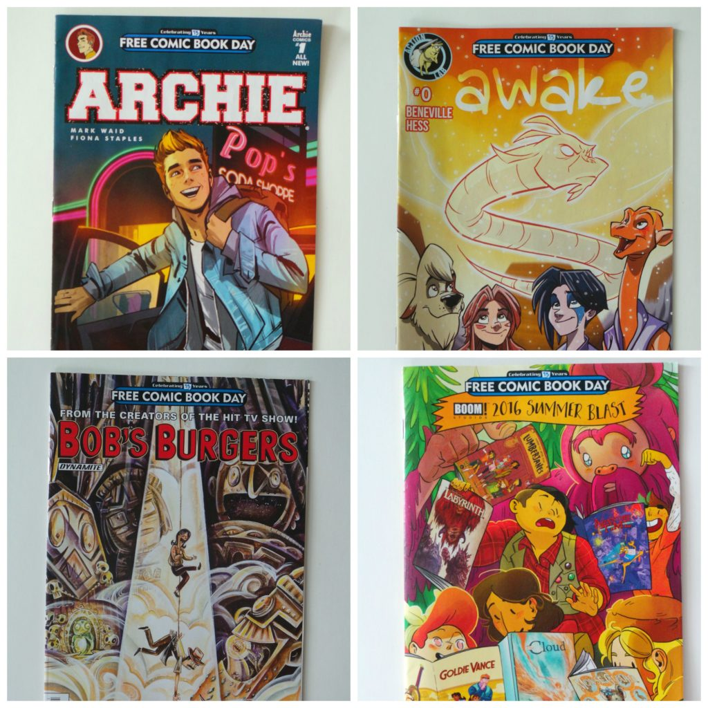 Free Comic Book Day Parramatta: Free Comic Book Day Is May 7-here Are The Ones For All Ages