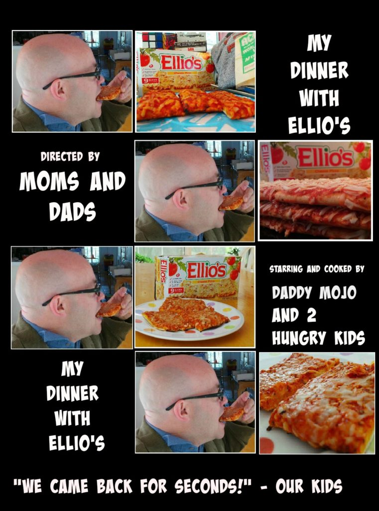 ellios pizza, my dinner with andre, pizza, dinner