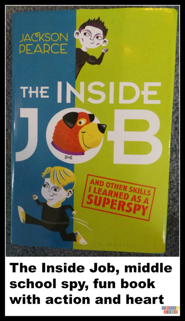 The Inside Job, superspy, Jackson Pearce, book, young reader, Hale