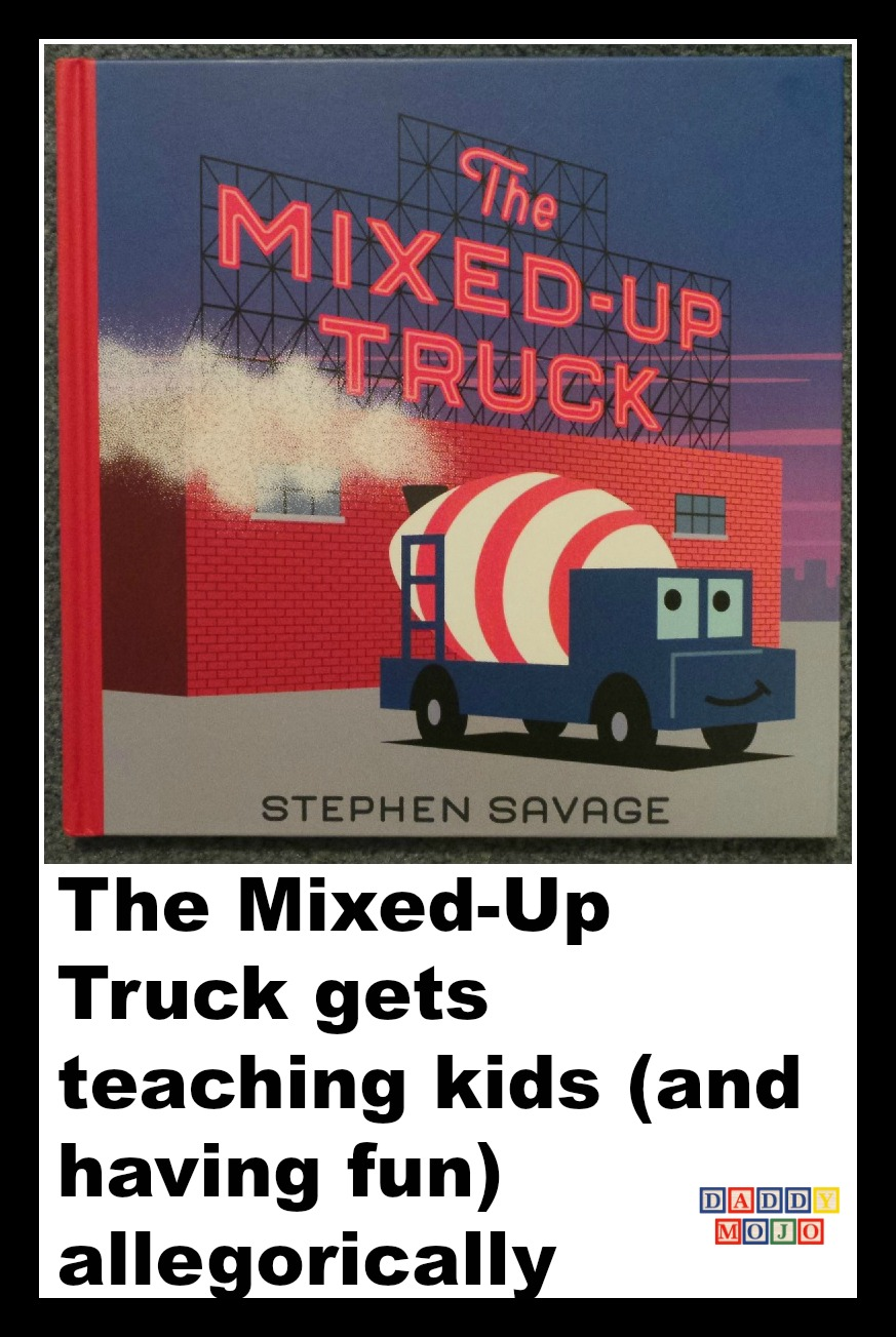 the mixed up truck gets teaching kids and having fun