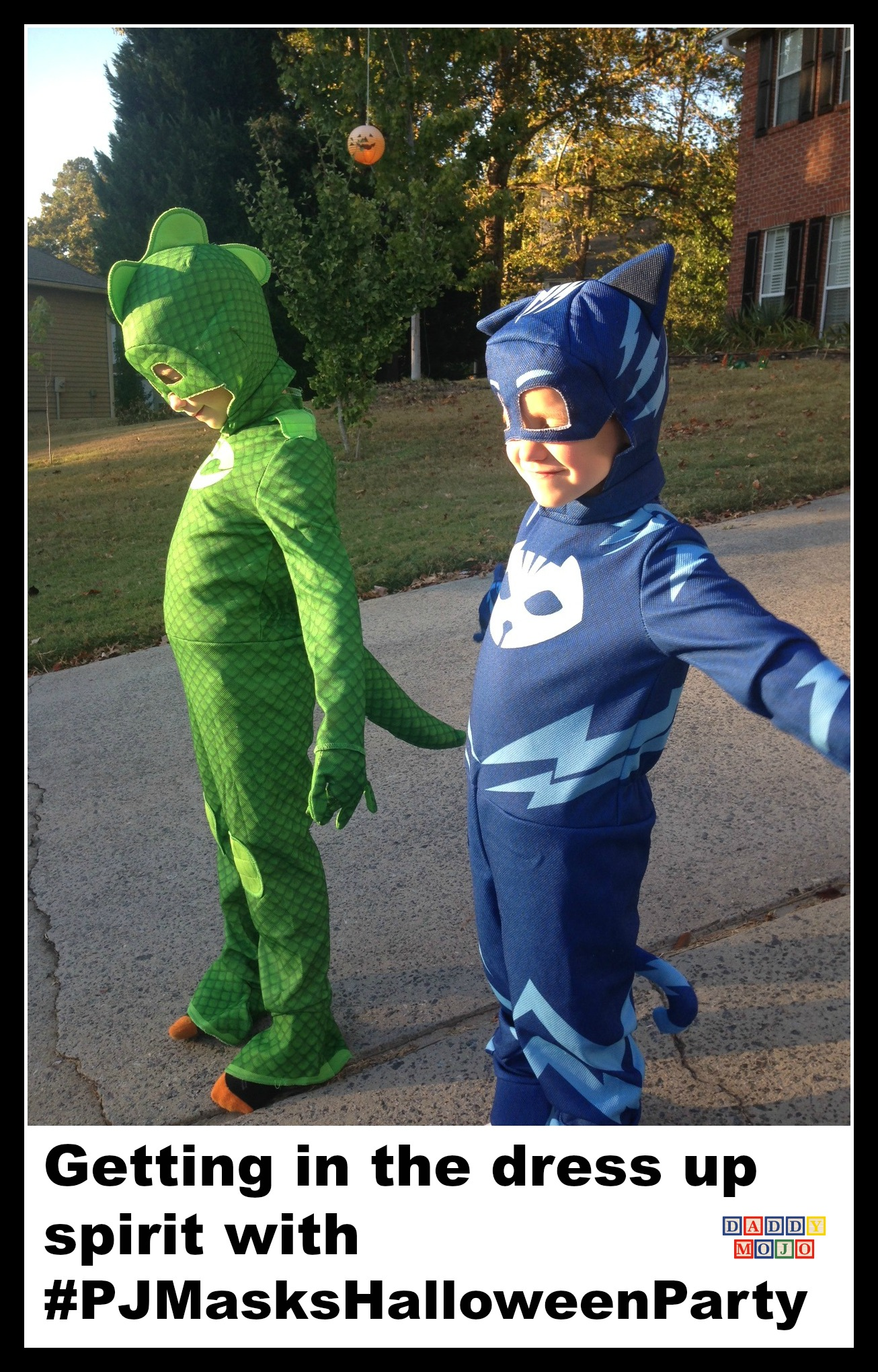 Getting in the dress up spirit with #PJMasksHalloweenParty