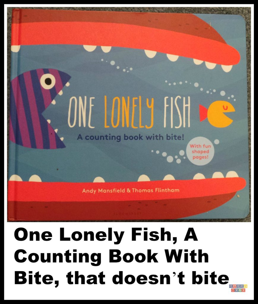 One Lonely Fish, counting book, graphic design, board book, early reader, counting