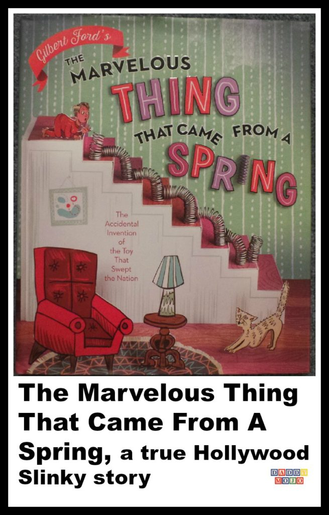 The Marvelous Thing That Came From a spring, slinky, Betty James, Richard James, toy, artwork, gilbert ford