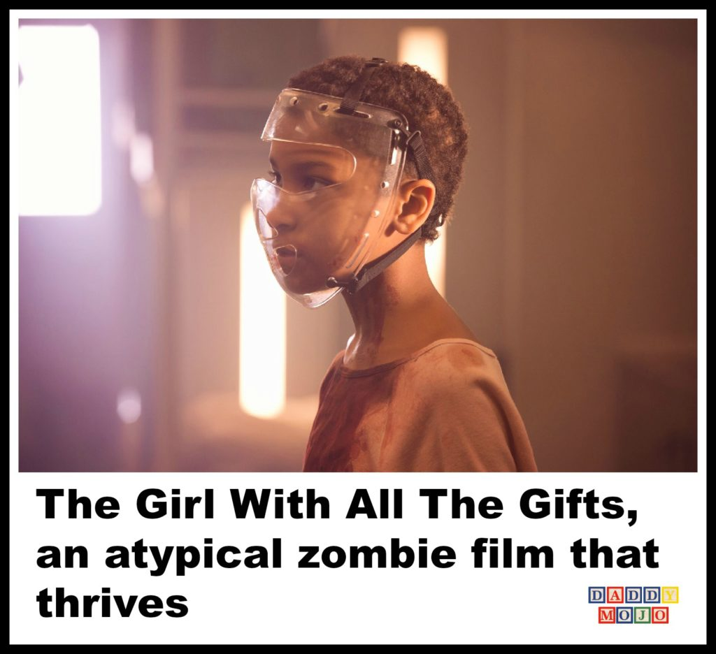 The Girl With All The Gifts, zombie film, graphic novel, horror, film, cristobal tapie de veer,
