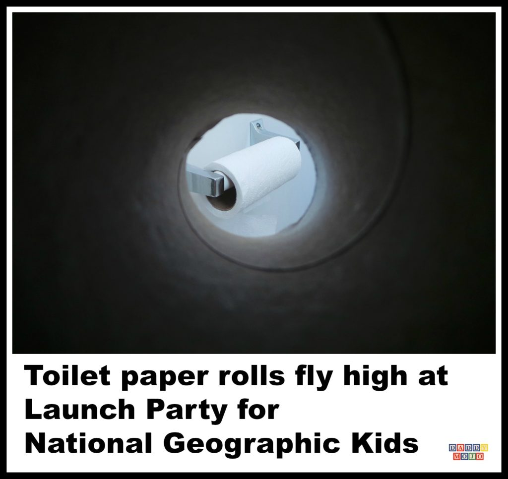 Rocket, toilet paper, toilet paper rolls, national geographic kids, Guinness World Record,