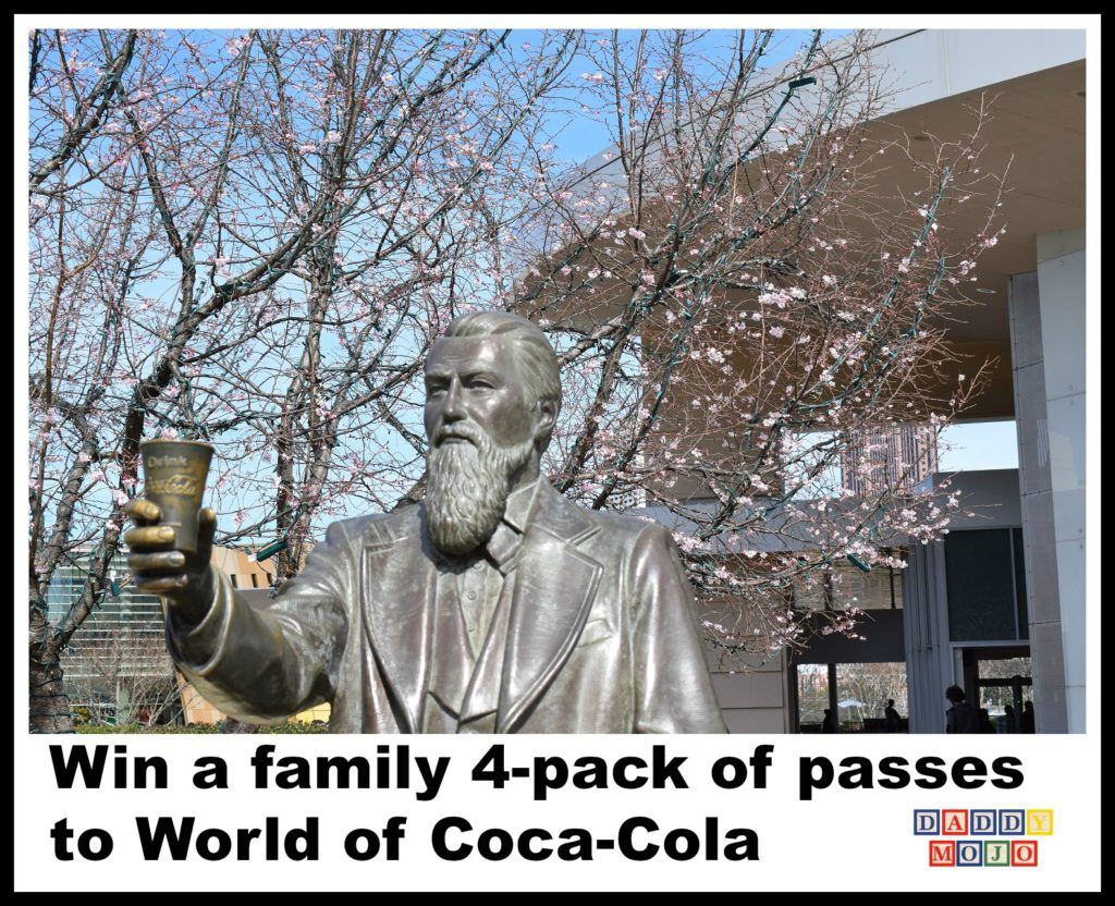 World of coca-cola, Atlanta, coca-cola, spring break, summer, kids, family travel