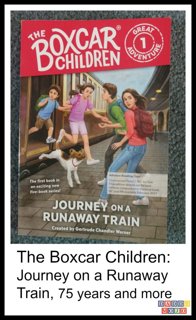The Boxcar Children: Journey on a Runaway Train, 75 years and more