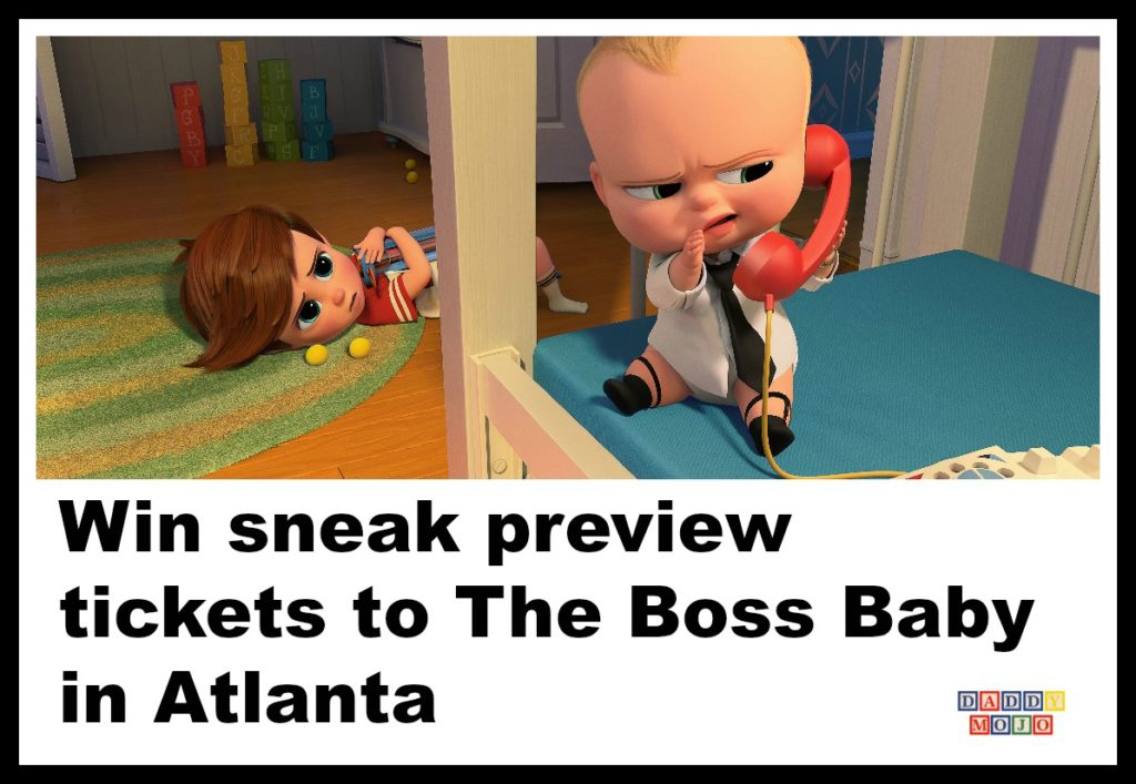 The boss baby, sneak preview, movie, Atlanta