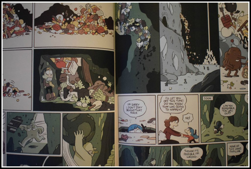Hilda, Hilda and the stone forest, free comic book day, luke pearson, young reader, trolberg, comic book, graphic novel