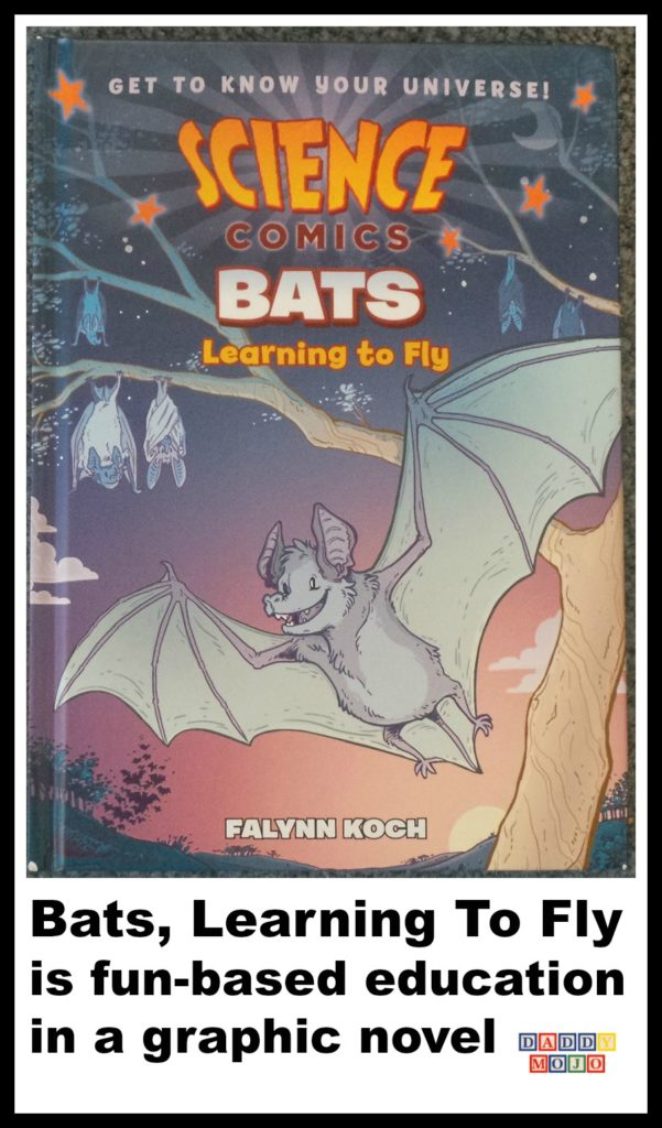 Bats, falynn Koch, veterinarian, science comics, bats learning to fly,