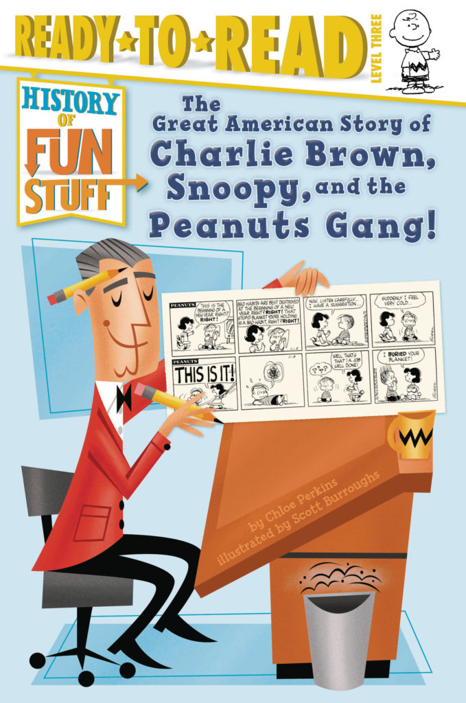 Ready to Read: The Great American Story of Charlie Brown, Snoopy and the Peanuts Gang!