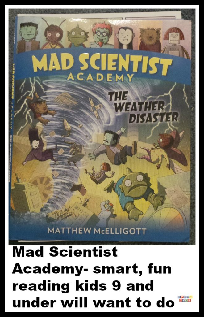 Mad scientist academy, the weather disaster, matthew mcelligott, weather, even aliens need snacks, even aliens need haircuts.