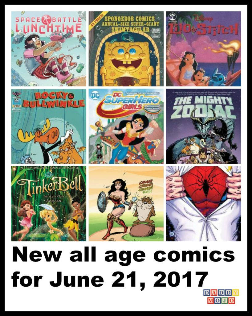 New All Age Comics For June 21, 2017