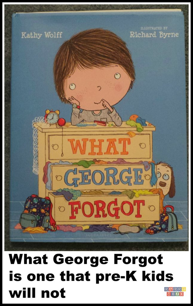 What George forgot, children's book, the monster at the end of the book, Kathy wolff, Richard byrne