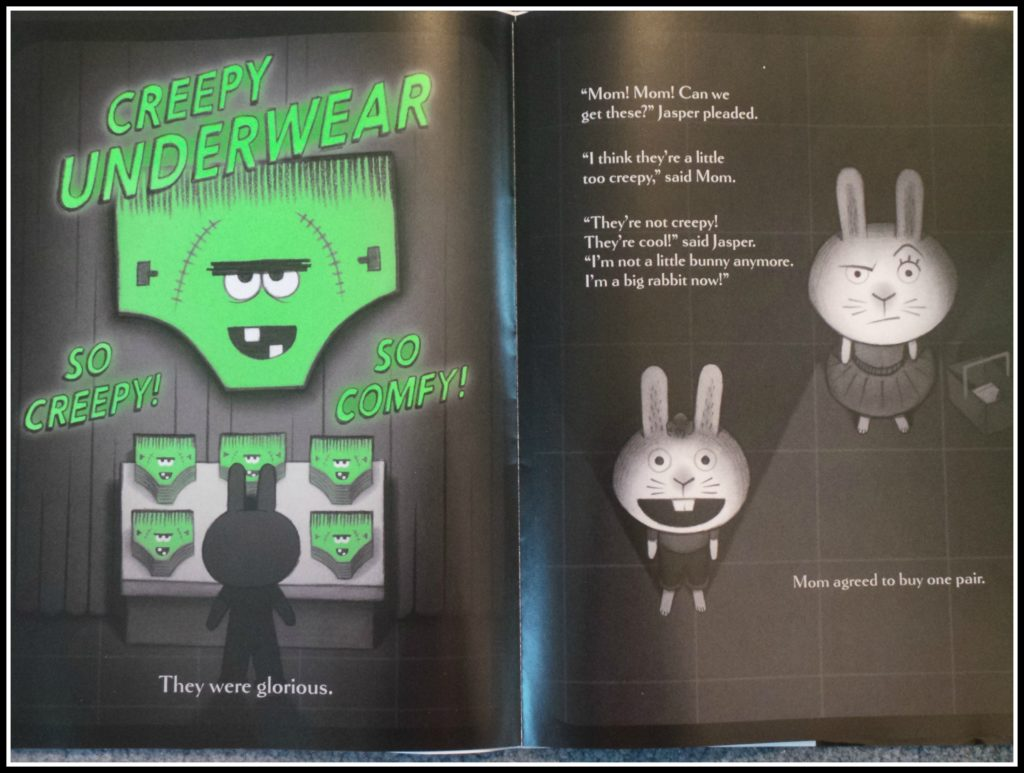 Image from Creepy Pair of Underwear by Peter Brown and Aaron Reynolds