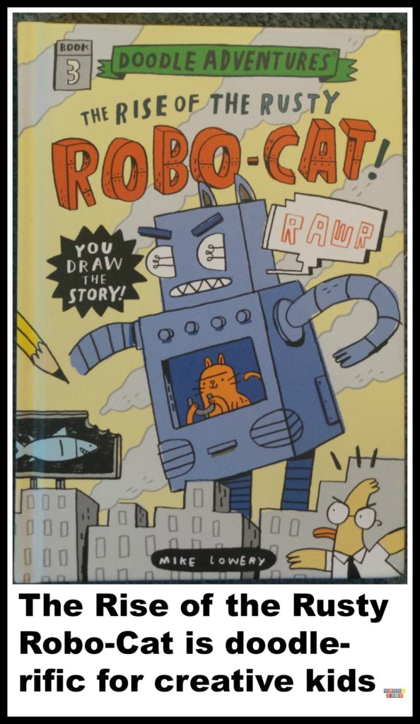 Cover from The Rise of The Rusty Robo Cat  by Mike Lowery