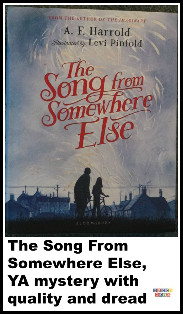 the song from somewhere else, a. f. harrold, levi pinfold, mysterious, ya, school
