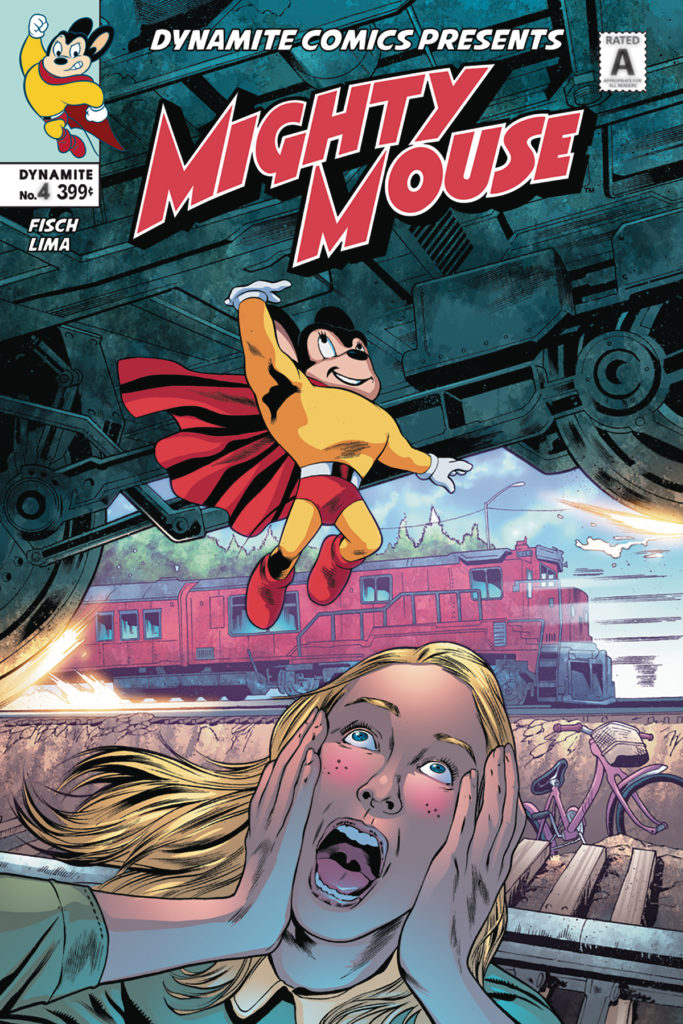 Best all ages comics for September 20, mighty mouse, dynamite comics