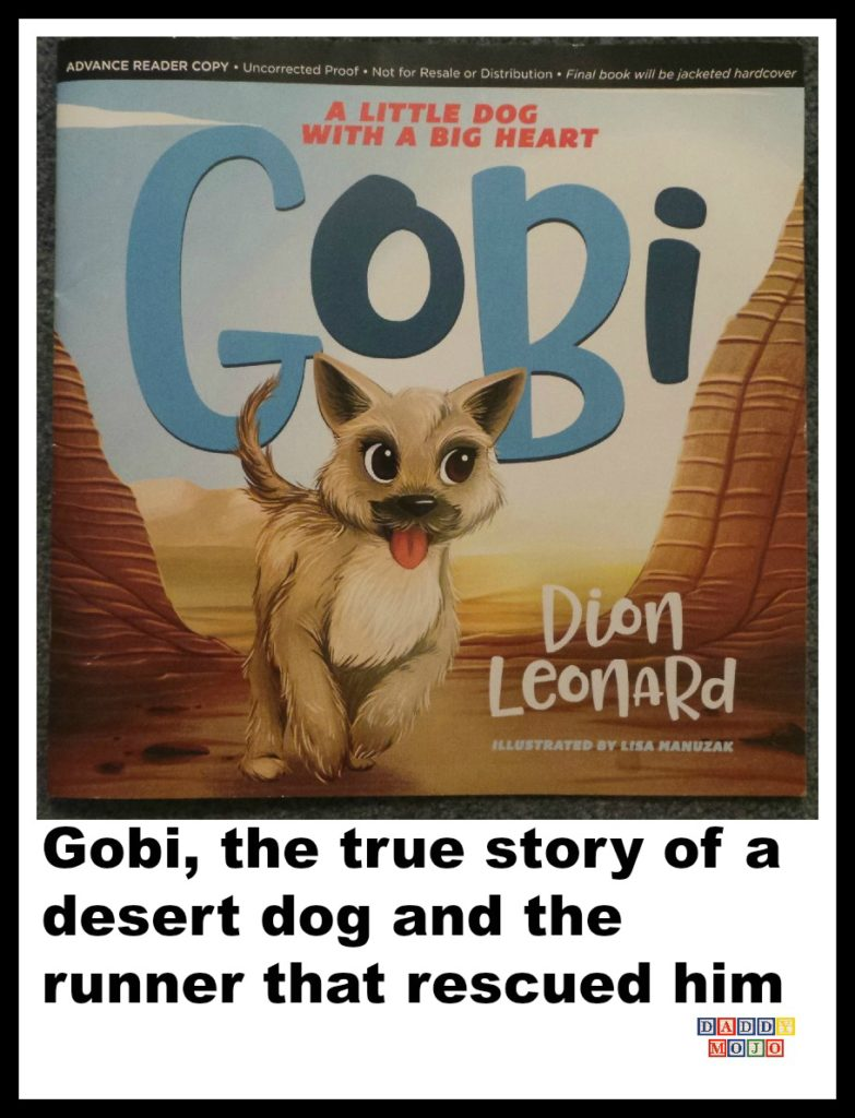 Gobi, Gobi desert, a little dot with a big heart, children's book , Dion Leonard, Dion,
