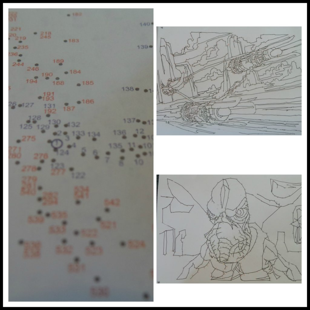 Star wars, star wars dot to dot, puzzle, dot to dot, dot-to-dot, star wars dot-to-dot