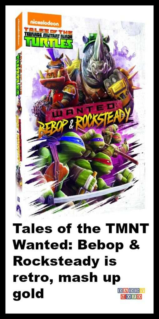 1980's, TMNT, Mighty Mutanimals, Wanted: Bebop & Rocksteady, Rocksteady, Splinter, Krang, Shredder