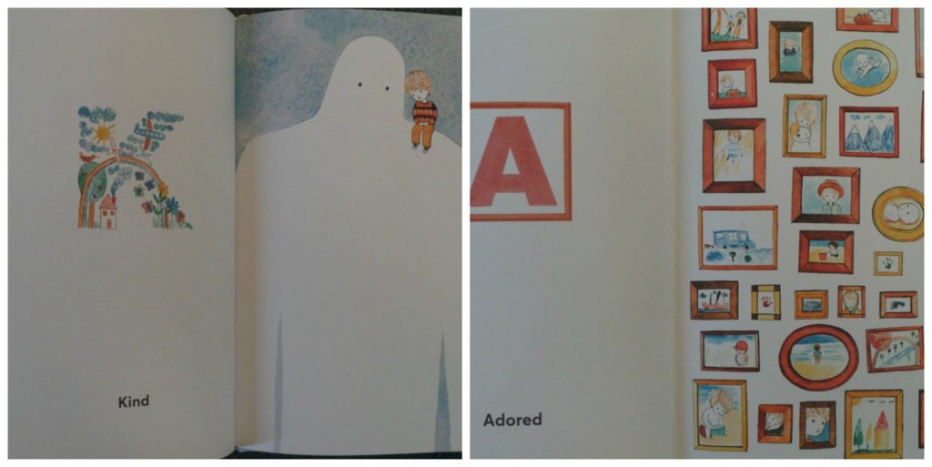 Abc book, today I feel, an alphabet of feelings, madalena moniz, young reader, alphabet book