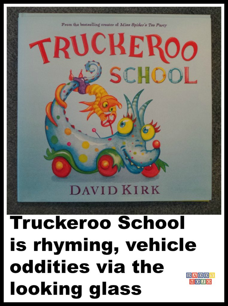 Tuckeroo School, david kirk, truckeroo, Sunny patch, miss spider